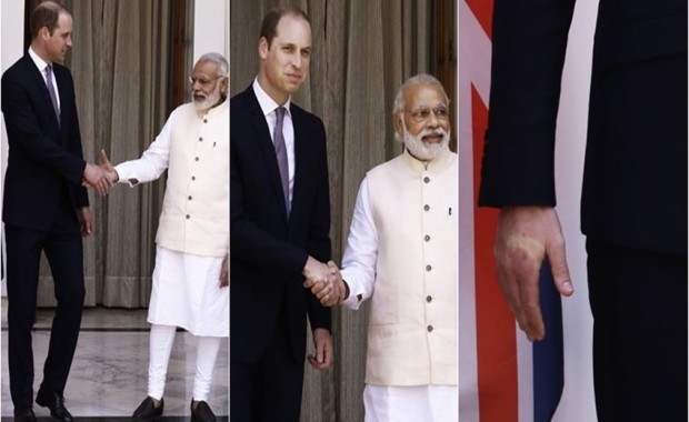 PM Modi and prince william