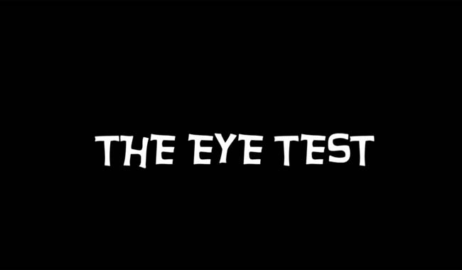 The Eye Test